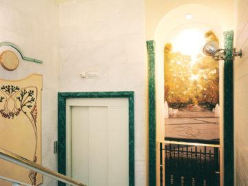 Puerta ascensor Uría 4