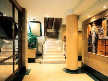 escalera edificio Pelayo 7