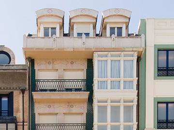 fachada Pelayo 7 Uría 8