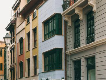 Fachada Calle del Peso 3 Oviedo