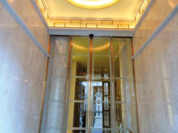 Portal edificio Fruela 18 Oviedo